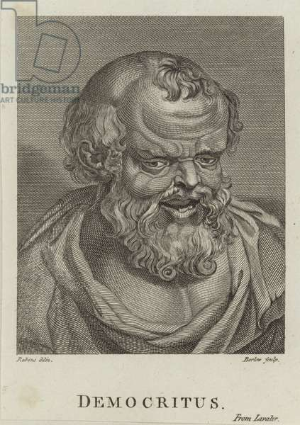 Democritus (engraving)