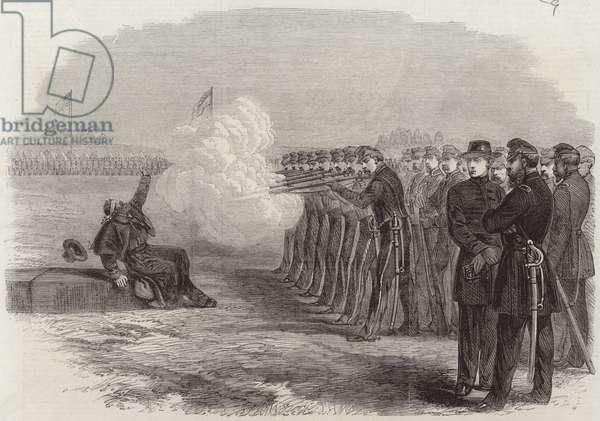 The Civil War in America (engraving)