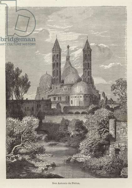 Basilica of Saint Anthony of Padua (engraving)