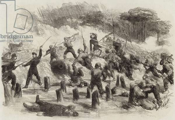 The Civil War in America (engraving)