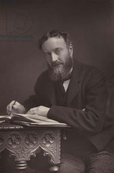 The Right Honourable Sir M Hicks-Beach (b/w photo)