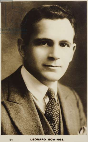 Leonard Gowings (b/w photo)