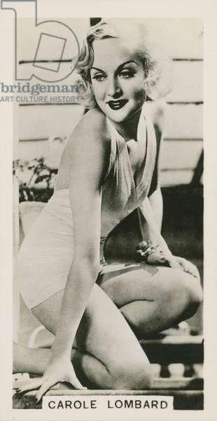 Carole Lombard (b/w photo)