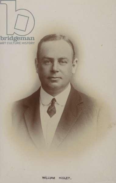 William Higley, English singer (b/w photo)