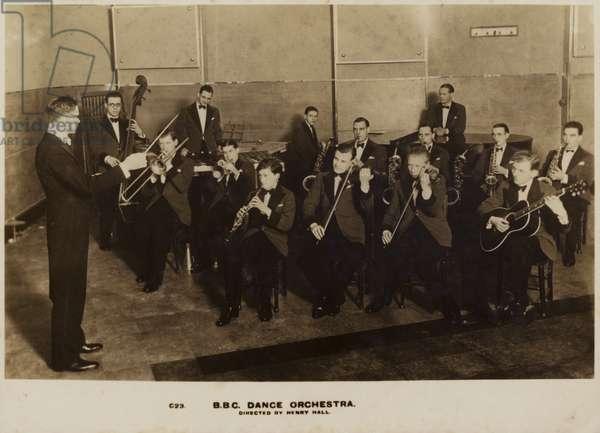 BBC Dance Orchestra (b/w photo)