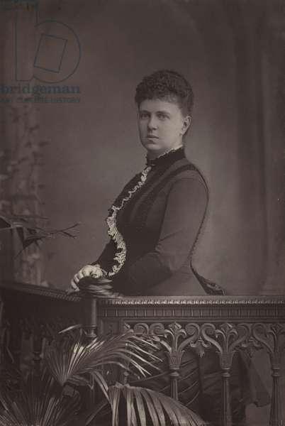 The Duchess of Edinburgh (b/w photo)