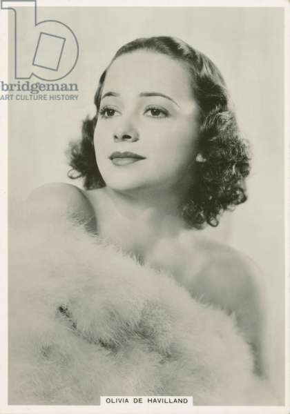 Olivia De Havilland (b/w photo)