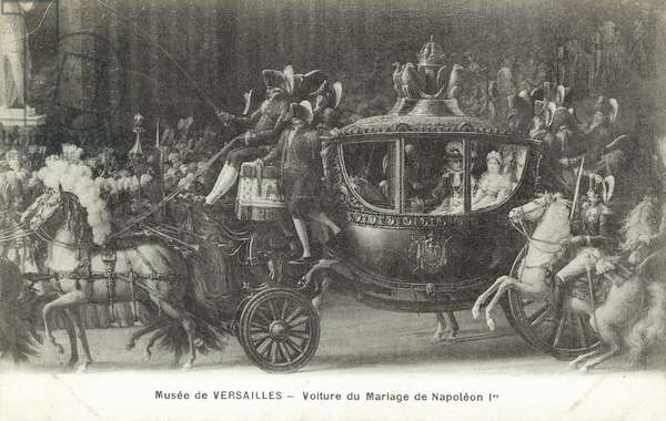 Marriage carriage of Napoleon Bonaparte (litho)
