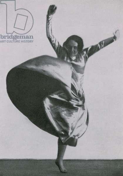 Mary Wigman (b/w photo)