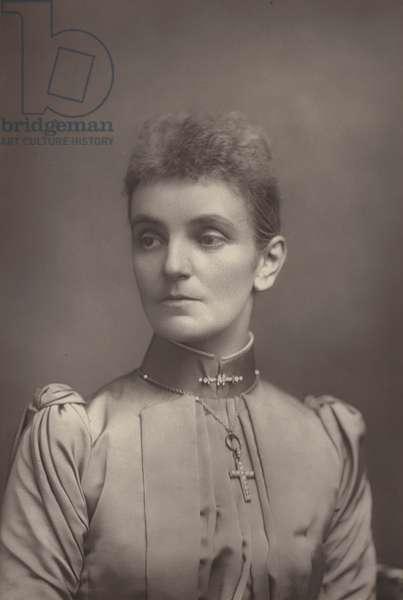 Lady Jeune (b/w photo)