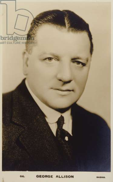 George Allison (b/w photo)