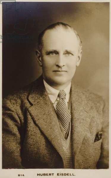 Hubert Eisdell (b/w photo)