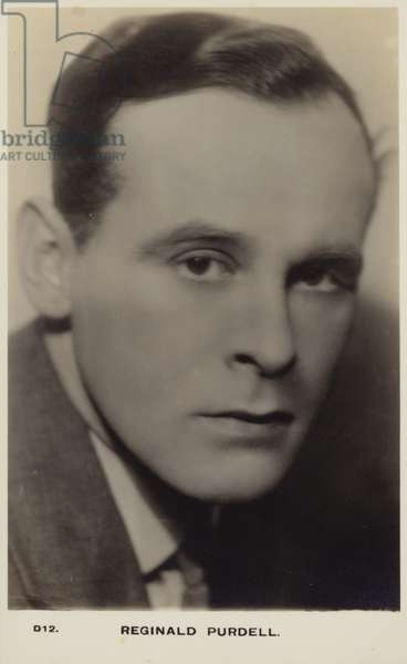 Reginald Purdell (b/w photo)