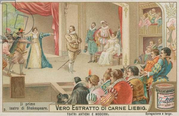 Shakespeare's Plays in Elizabethan England (chromolitho)