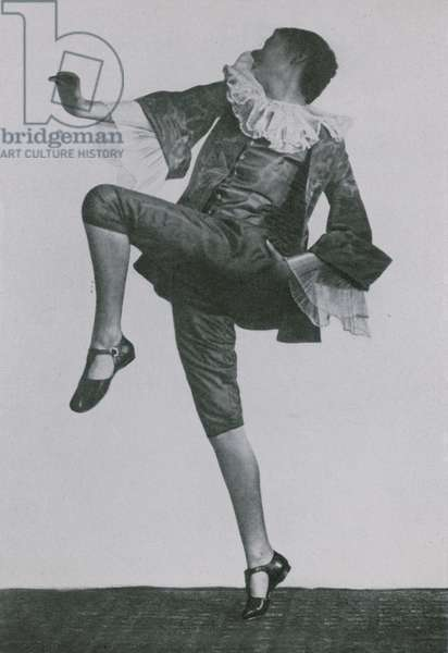 Clotilde Von Derp-Sacharoff (b/w photo)
