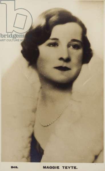 Maggie Teyte (b/w photo)