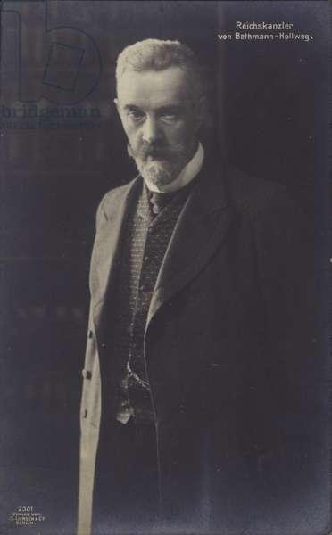 Theobald von Bethmann Hollweg, German Chancelor from 1909-17 (b/w photo)
