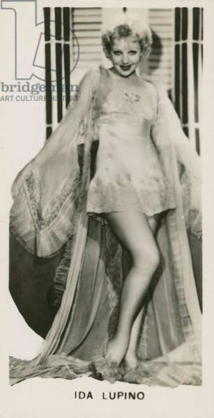 Ida Lupino (b/w photo)