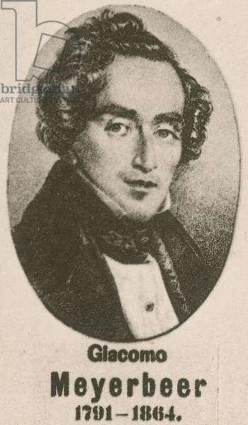 Giacomo Meyerbeer (gravure)
