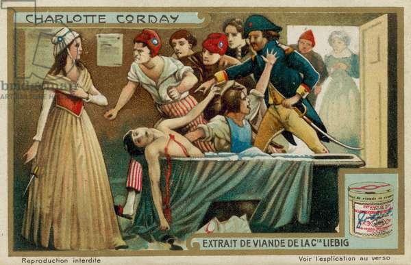 Charlotte Corday (chromolitho)