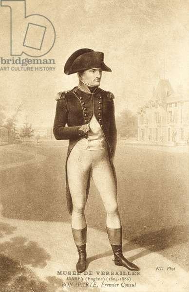 Napoleon Bonaparte, Premier Consul (litho)