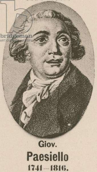 Giovanni Paesiello (gravure)
