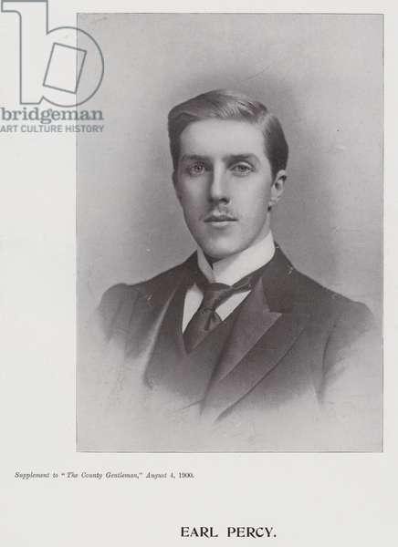 Earl Percy (b/w photo)