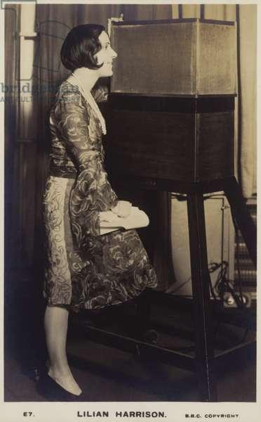 Lilian Harrison (b/w photo)