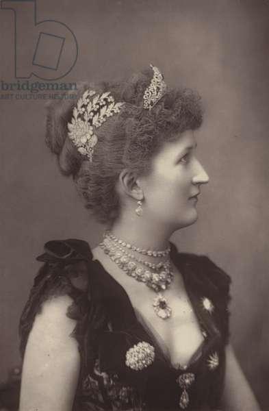 Lady Carew (b/w photo)