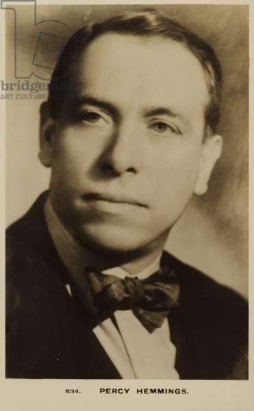 Percy Hemmings (b/w photo)