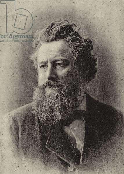 Mr William Morris (b/w photo)