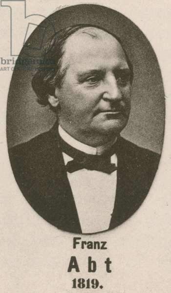 Franz Abt (gravure)