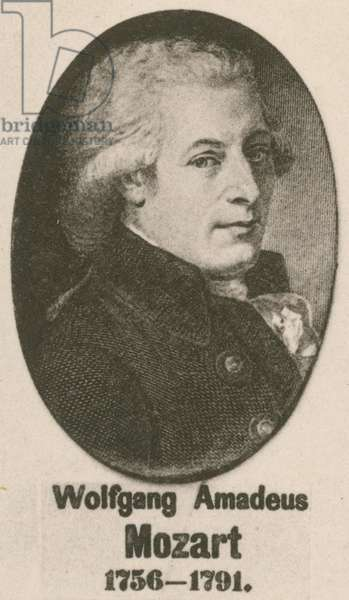 Wolfgang Amadeus Mozart (gravure)
