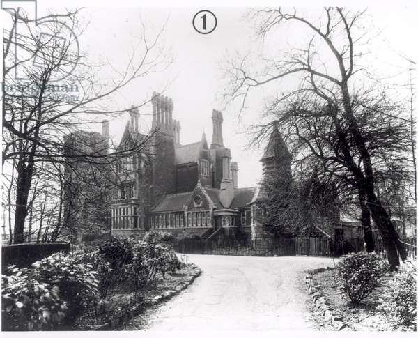 Meanwood Towers, built 1867, 1950 (b/w photo)