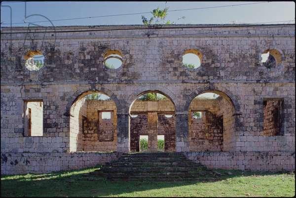 18th century slave hospital (photo)