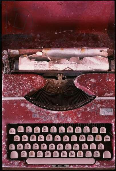 Noël Coward's typewriter, Firefly, Jamaica (photo)