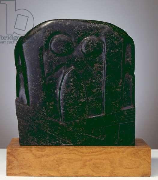 Flenite Relief, 1913 (serpentine stone)