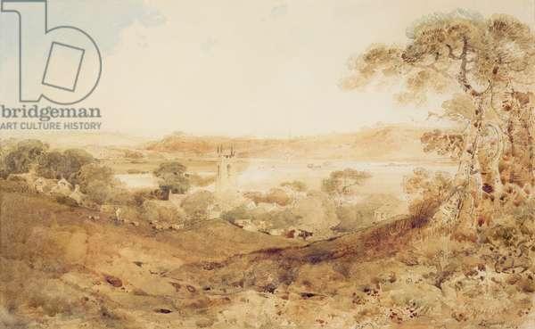 Kirkthorpe, Yorkshire, 1804 (w/c on paper)