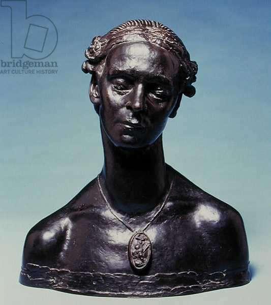 Bust of Mary McEvoy, 1910 (bronze)