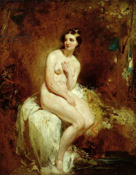 The Bather (oil on panel)