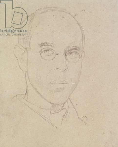 Self Portrait, 1916 (pencil on paper)