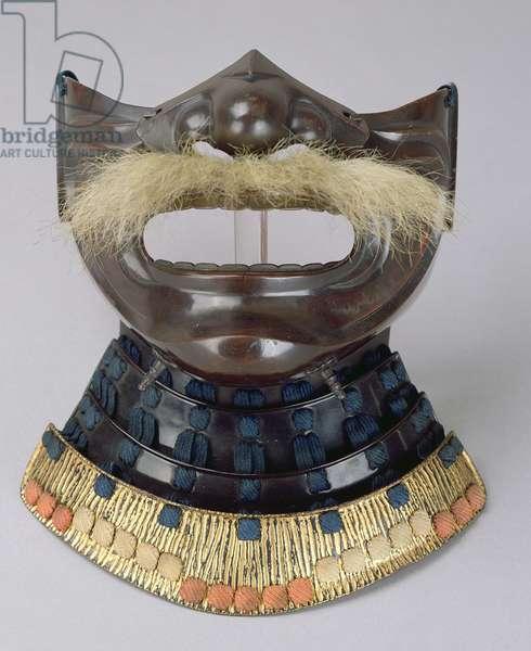 Mempo face mask, Masanobu or Nara style, Japanese
