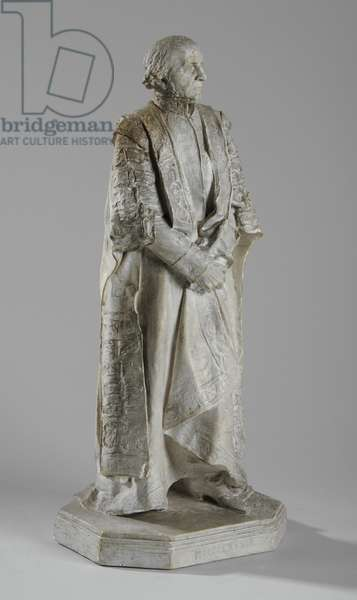 Maquette for the statue of William Ewart Gladstone on The Strand, London, c.1905 (plaster) (see also 876153)