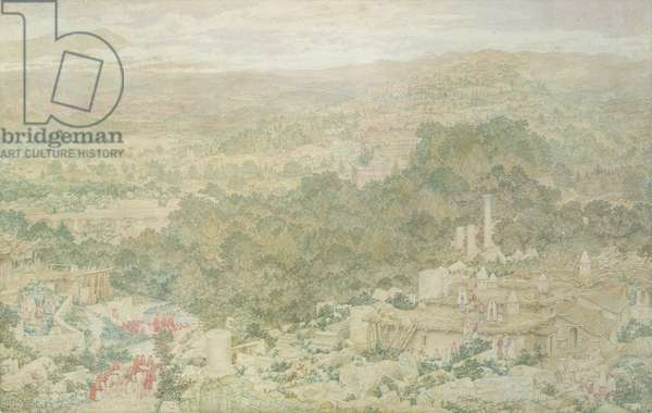 A View of the Ancient City of Tlos in Lycia, 1883 (w/c on paper)