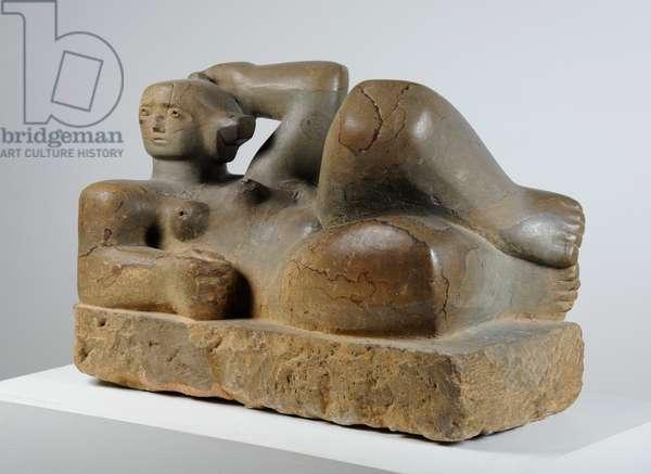 Reclining Figure, 1929 (Hornton stone)