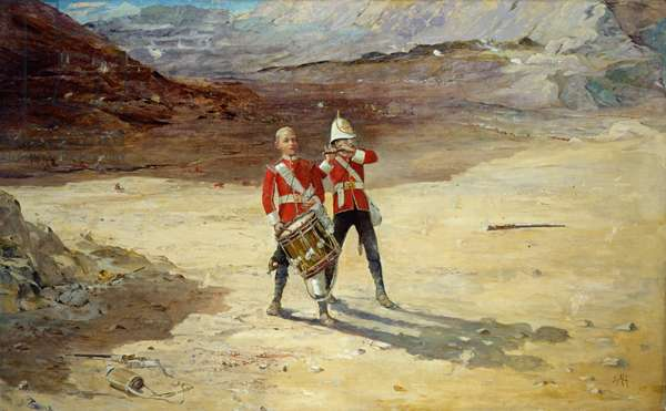 The Drums of the Fore and Aft, 1895 (oil on canvas)