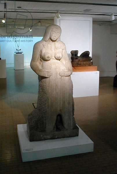 Maternity, 1910 (stone)