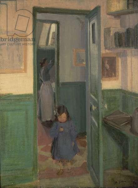 In Sickert's House, 1907 (oil on canvas)
