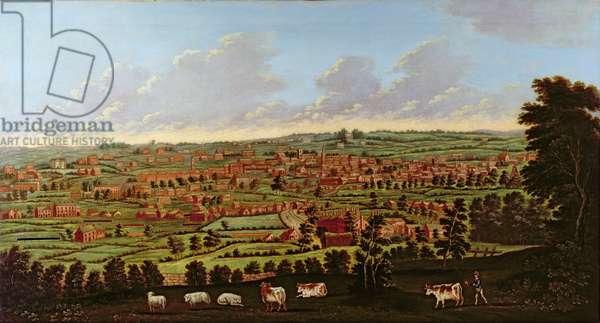 Prospect of Leeds, c.1800 (oil on canvas)