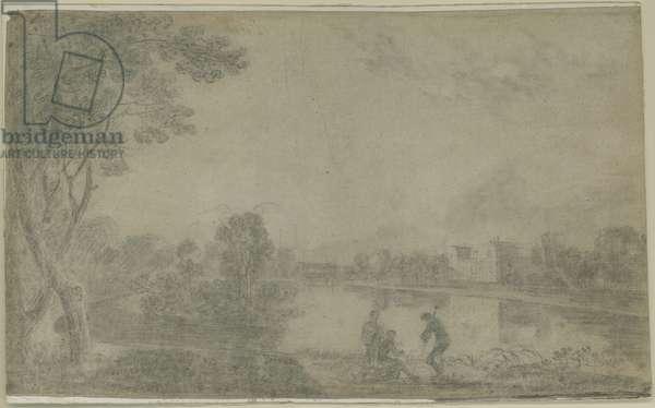 Wilton House (chalk on paper)